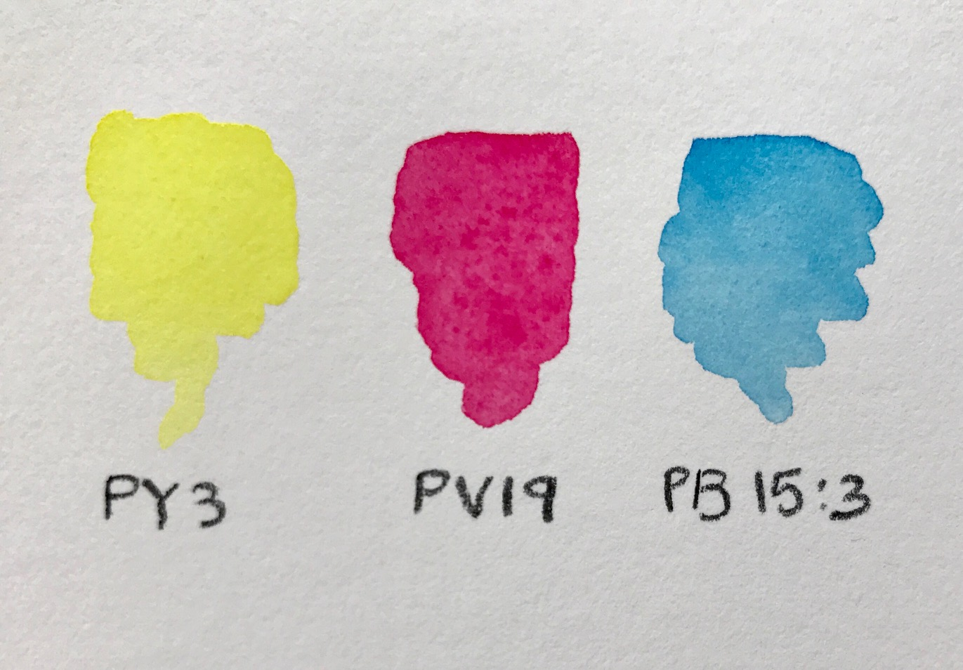 Primary Watercolors
