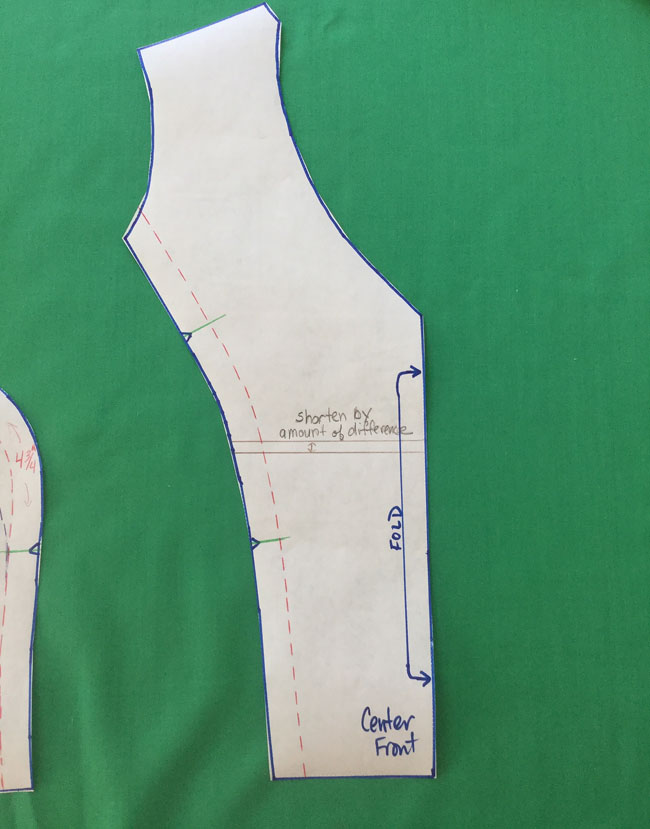 horten center front piece length
