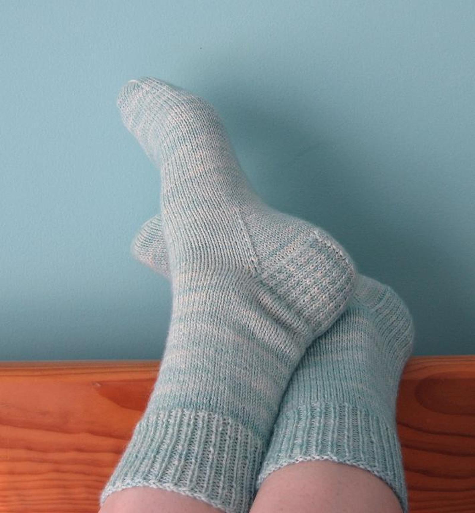 Very Vanilla Socks Knitting Pattern
