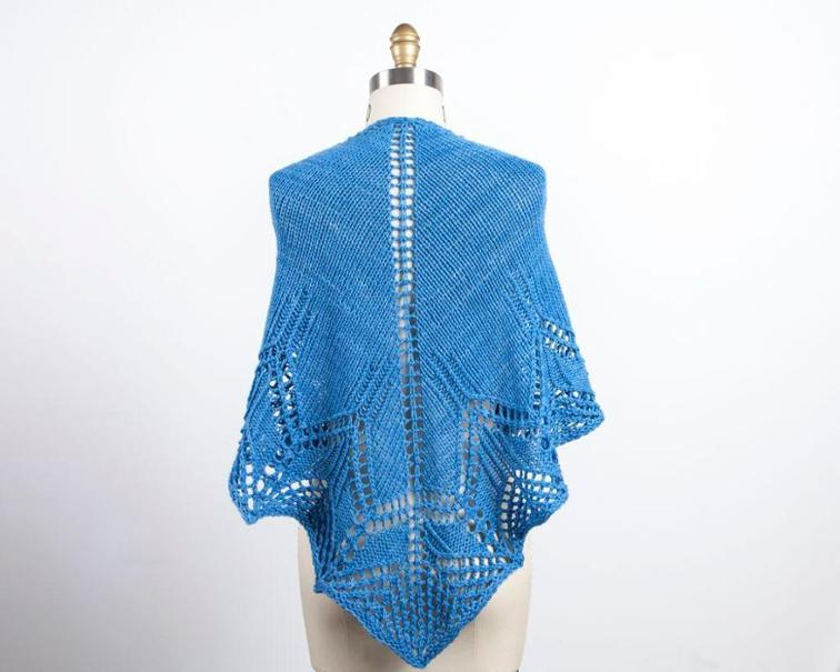 Waterspout Shawl