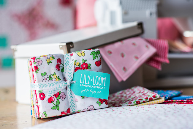 Lily and Loom fabric