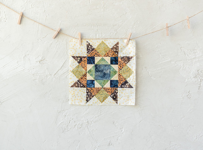 Twisted Candy Star Canyon Creek Quilt