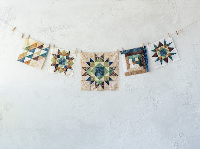 Blocks for Canyon Creek Quilt