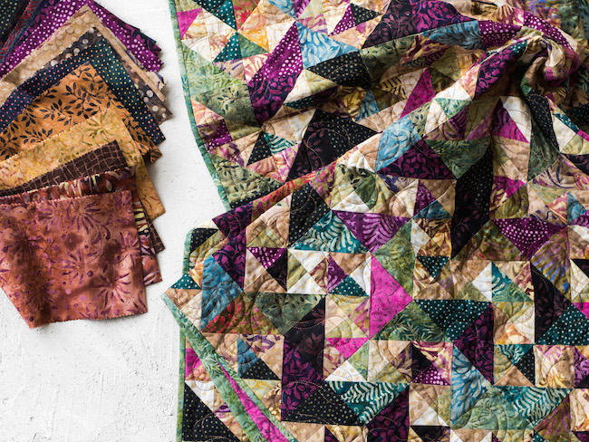 Charming Chevron Vintage Reserve Quilt Kit