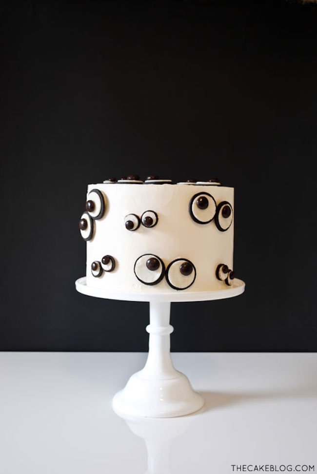 Cookie Eye Cake by Carrie Sellman | Bluprint