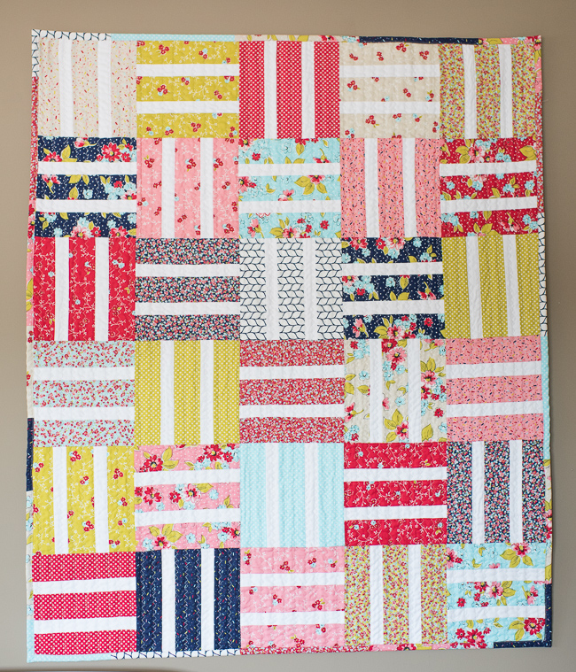 beginner baby quilt tutorial
