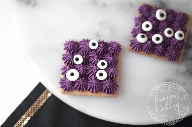 Halloween monster cookie tutorial