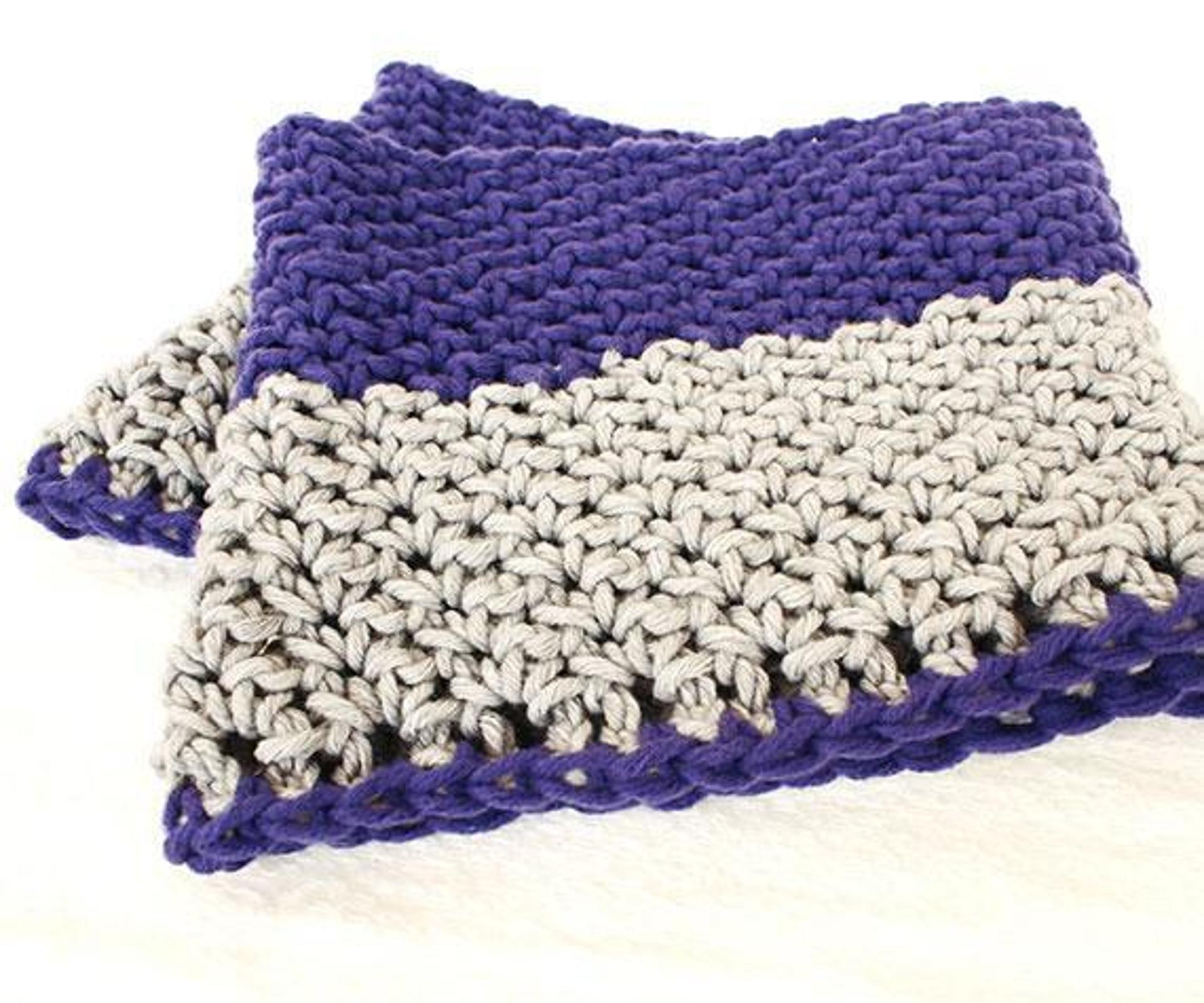 Purple Grey Infinity and Beyond Cowl