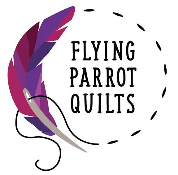 Flying Parrot Quilts Logo