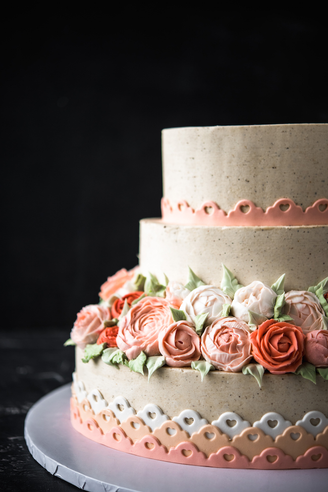 Fall Buttercream Cake from Man About Cake