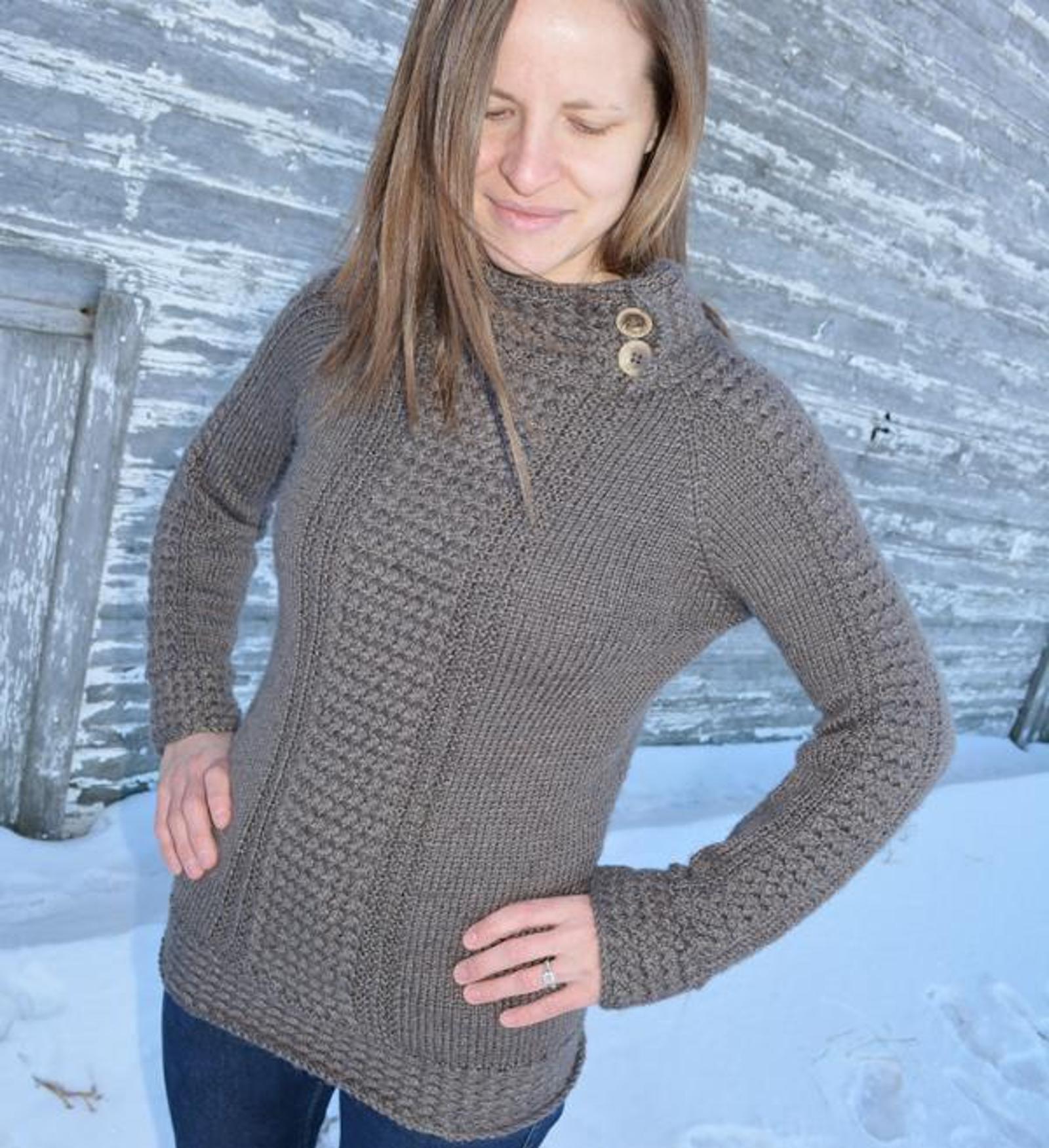 Miss Ella's Sweater Knitting Pattern