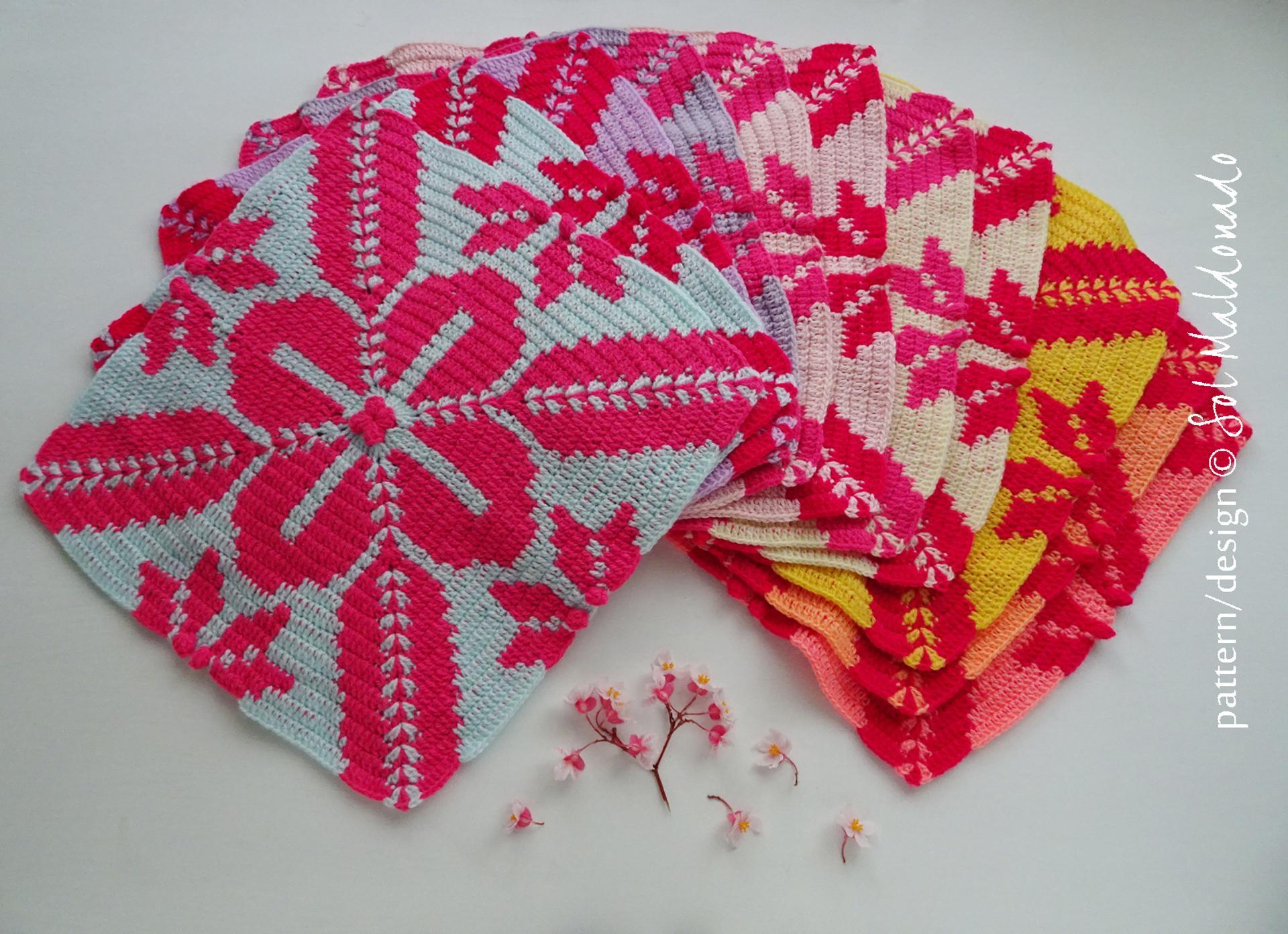 aloha tapestry crochet pattern