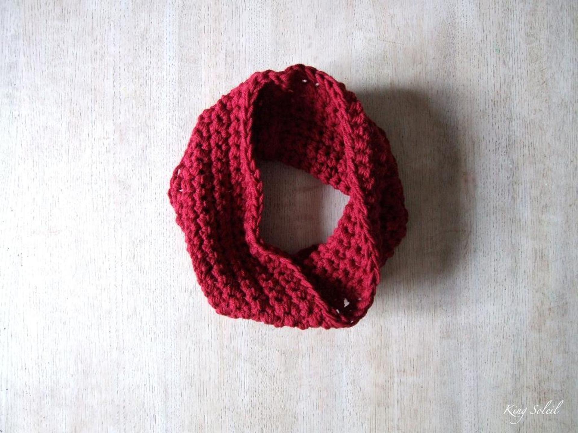 beginners cowl free crochet pattern