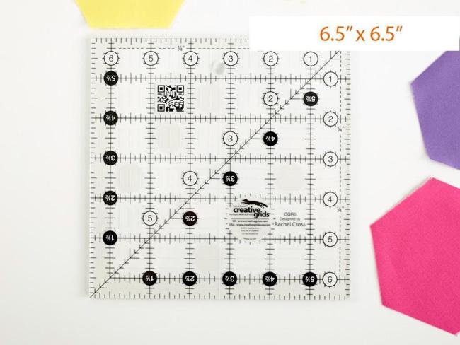 Creative Grids 6.5in ruler