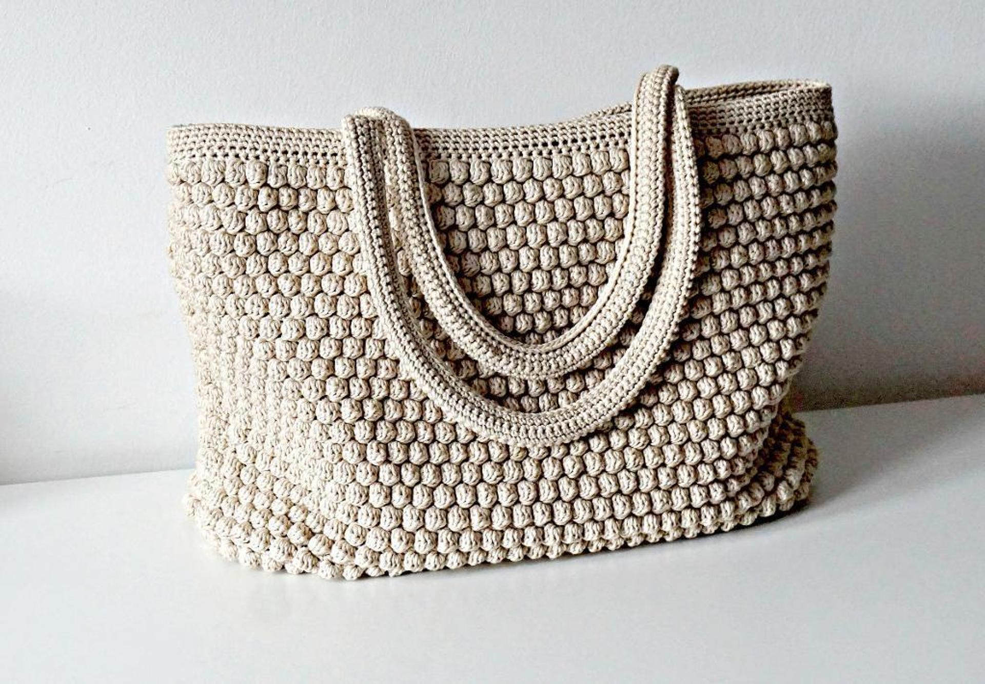 crochet tote bag pattern