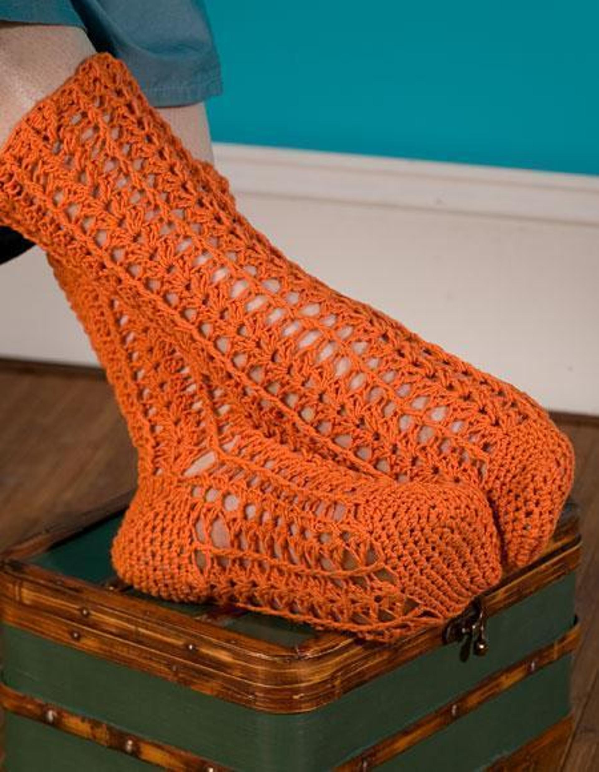 durango crochet socks pattern