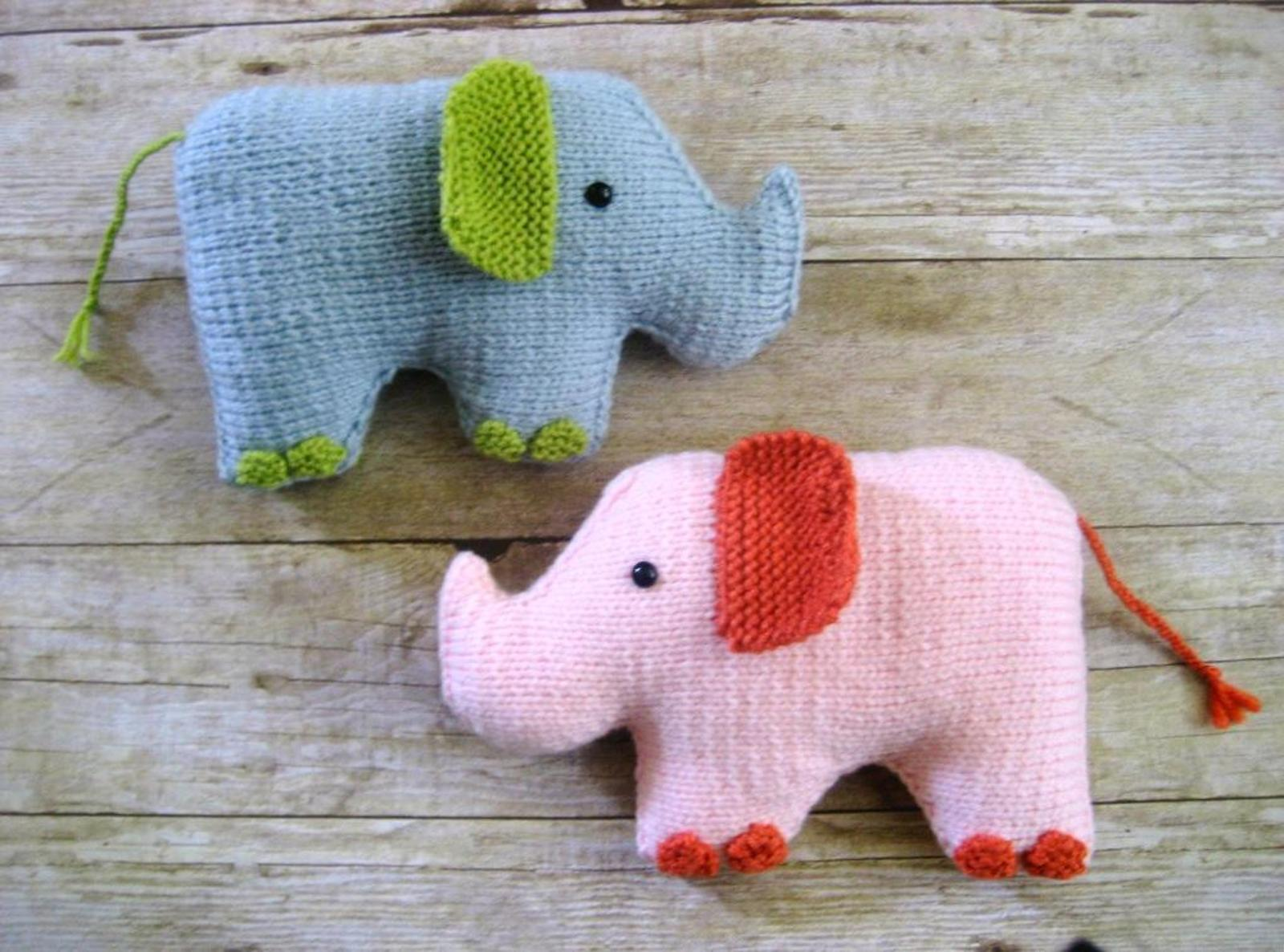 Elephant Knit Pattern