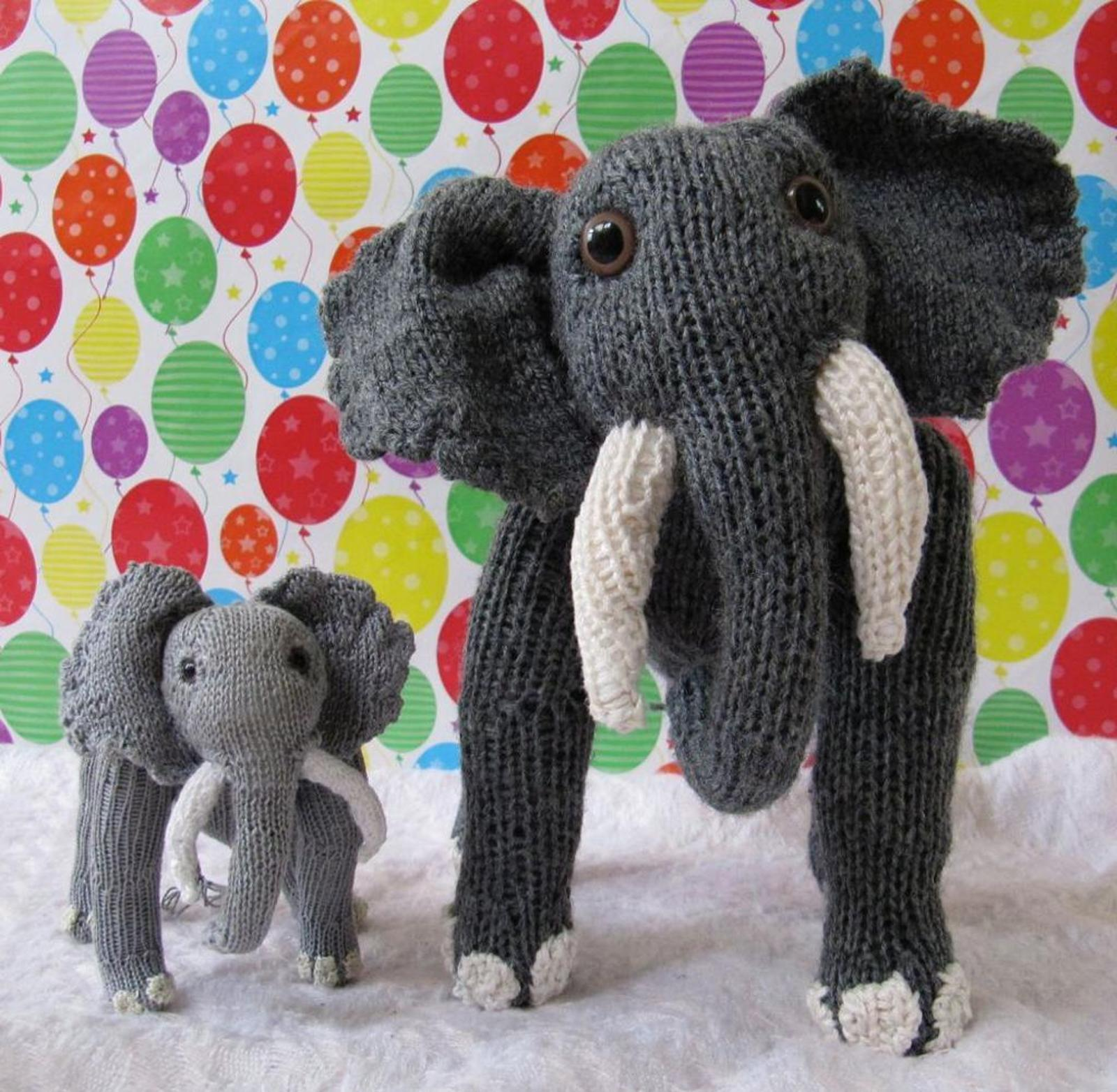 Elsie and Baby Elvis Elephant