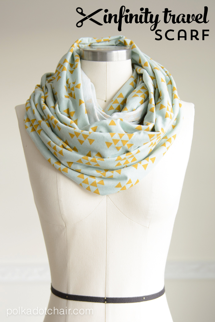 Infinity Scarf to Sew