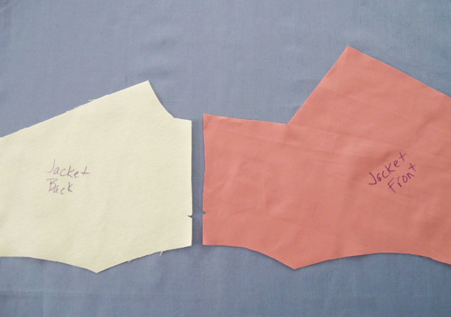 jacket shoulder seam edges