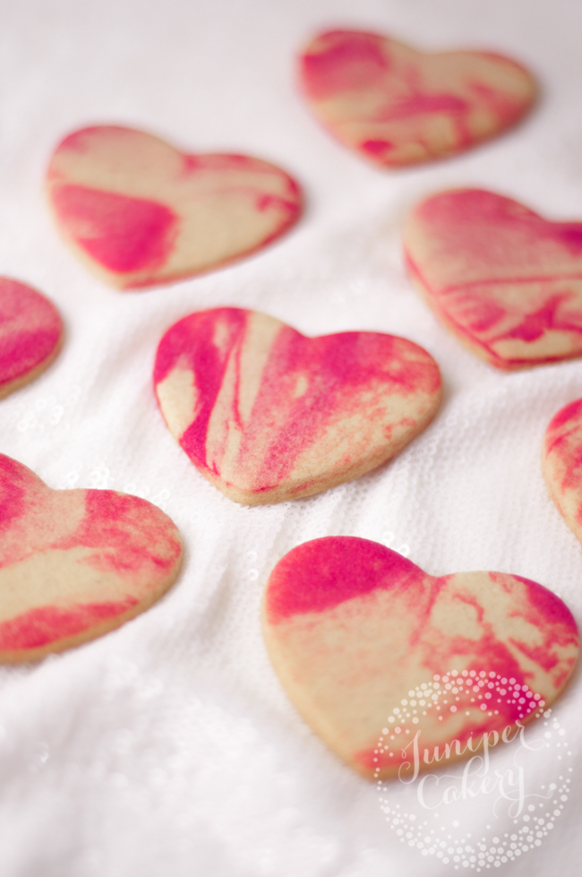 Easy marbled cookie tutorial for fun treats