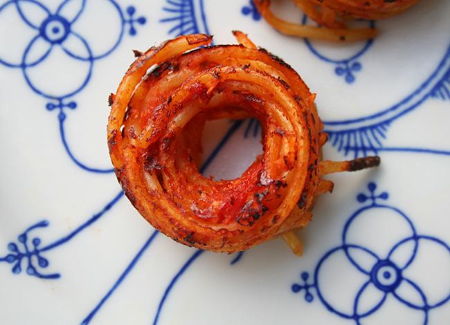Spaghetti doughnut