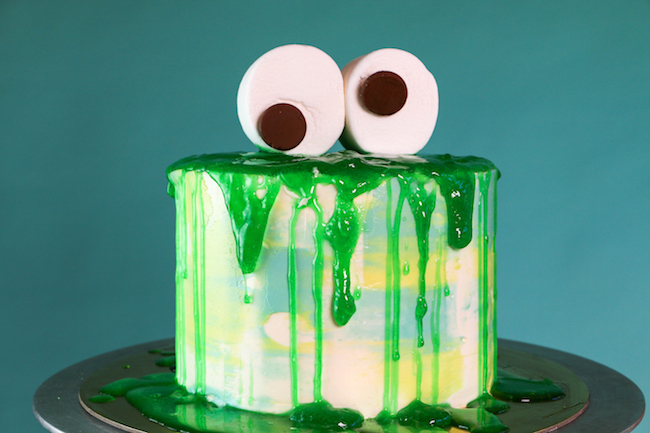 Edible Slime Cake | Erin Gardner
