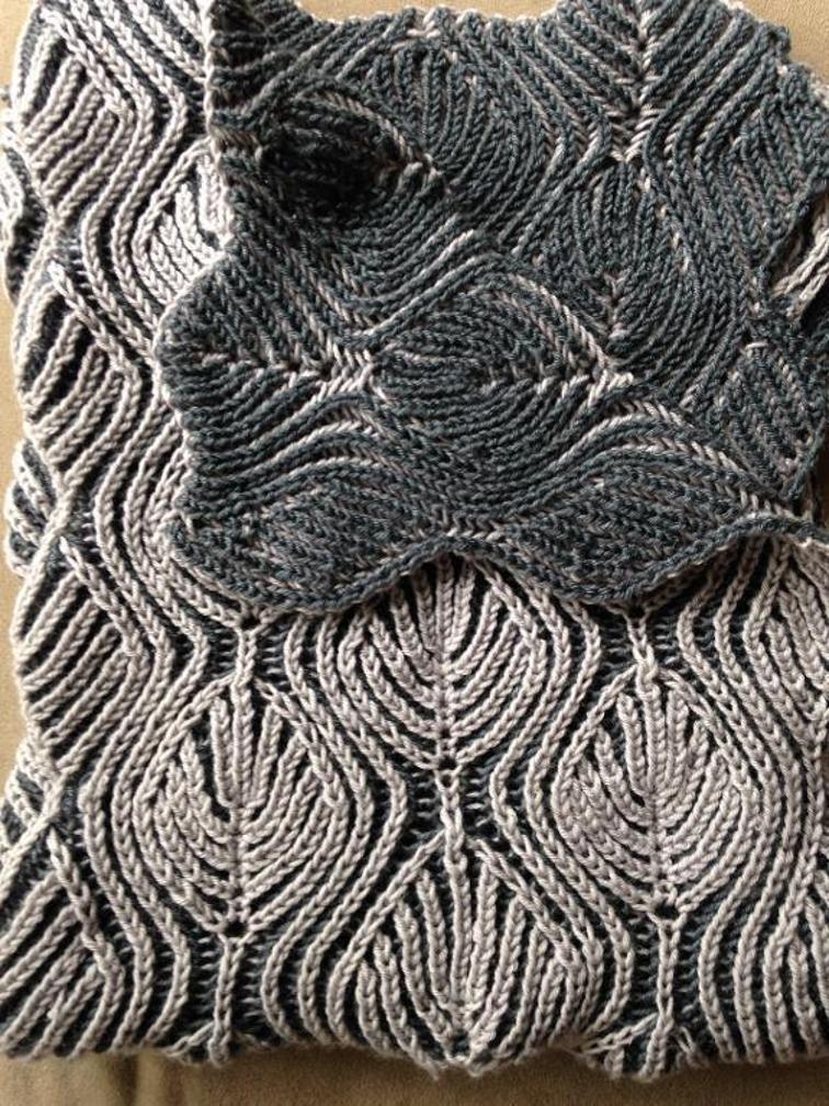 Willow Baby Blanket Brioche