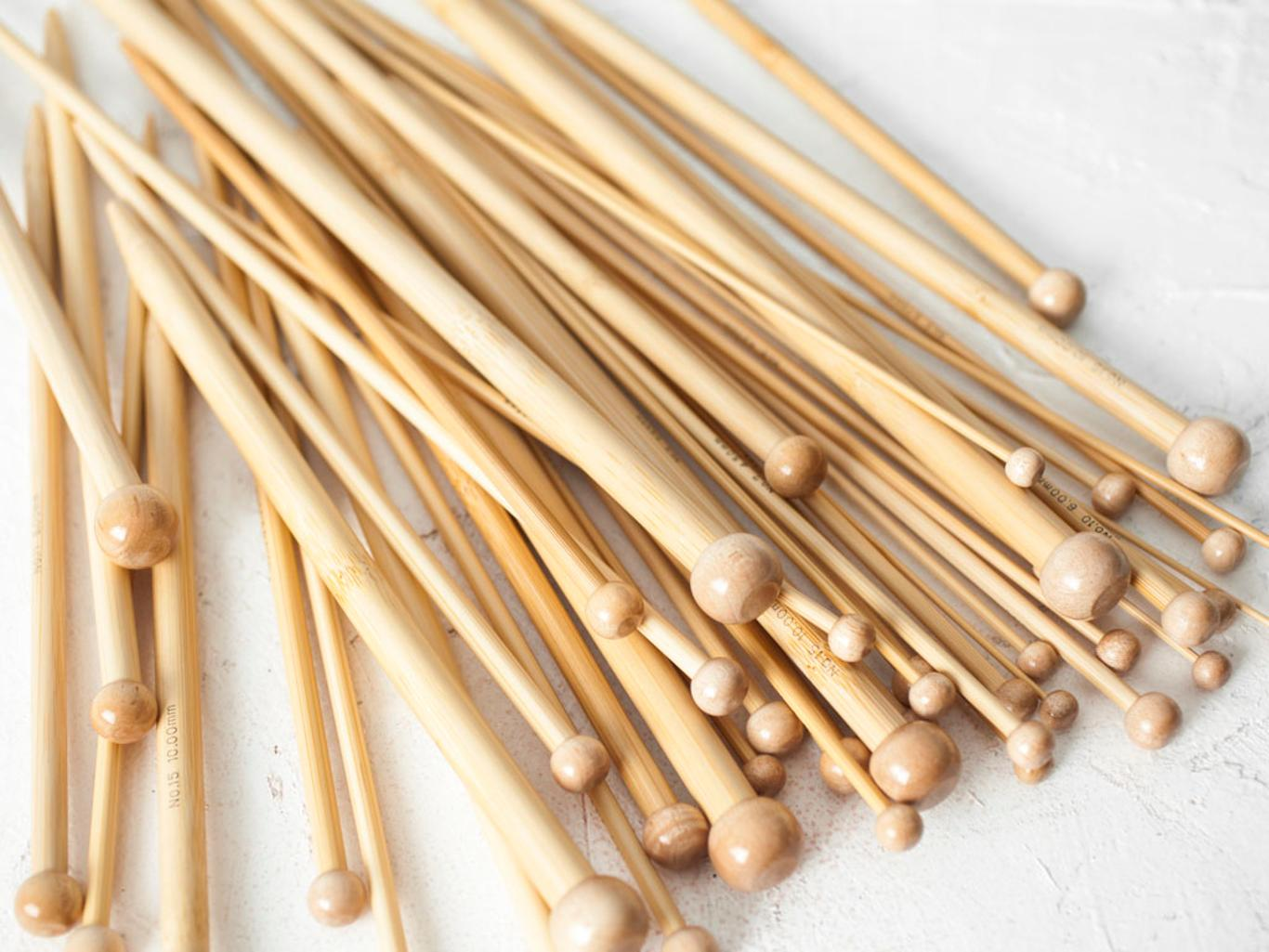 Tulip Bamboo Single Point Knitting Needles