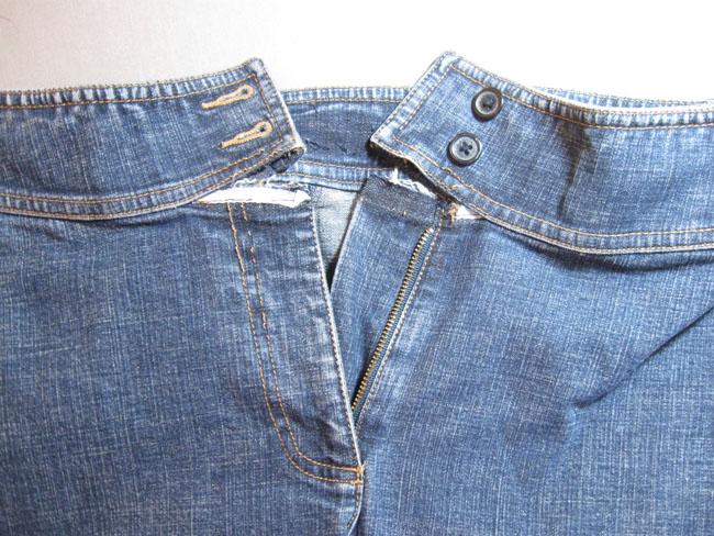 Detach waistband