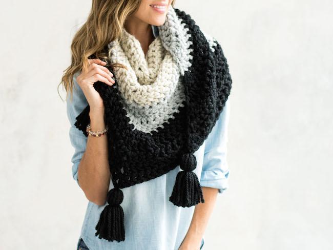 Hudson Wrap Crochet Kit