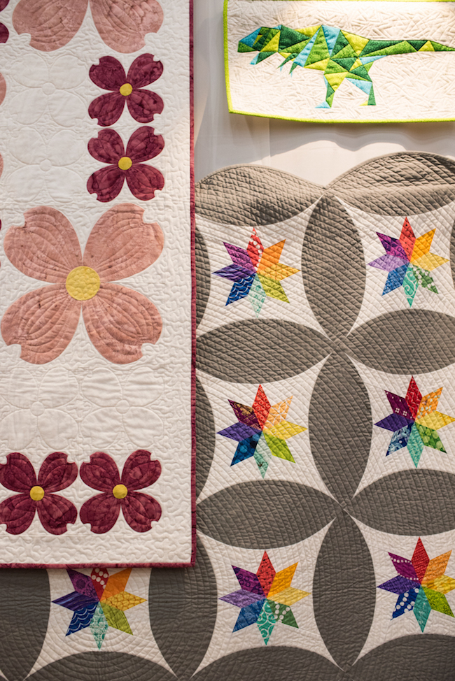 Sylvia's Quilts on Display