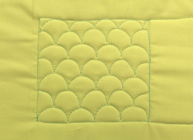 Clamshell Quilting