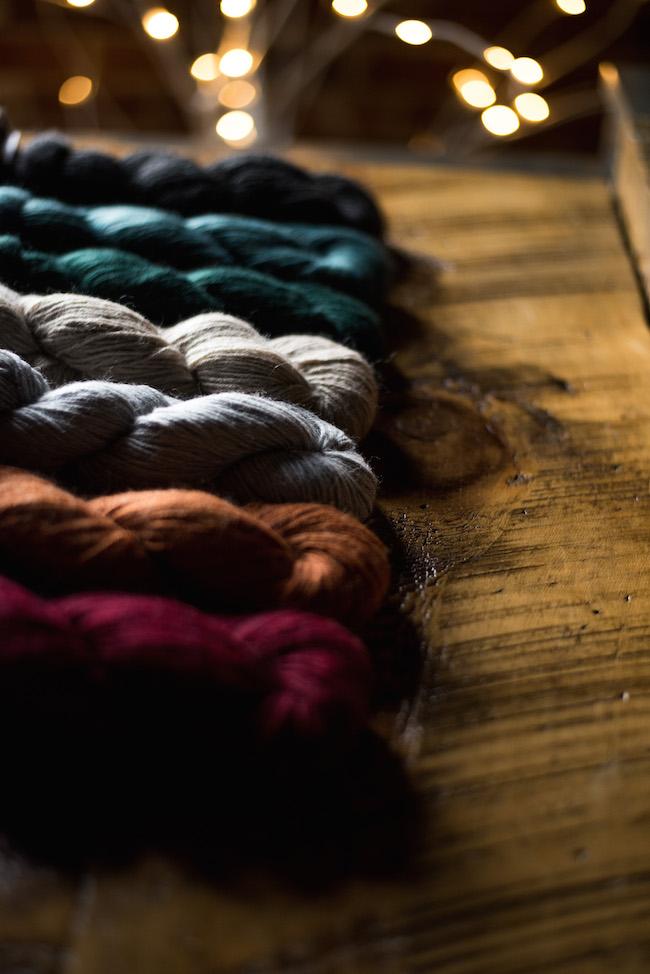 Cloudborn Limited Edition Alpaca Wool and Silk DK Yarn