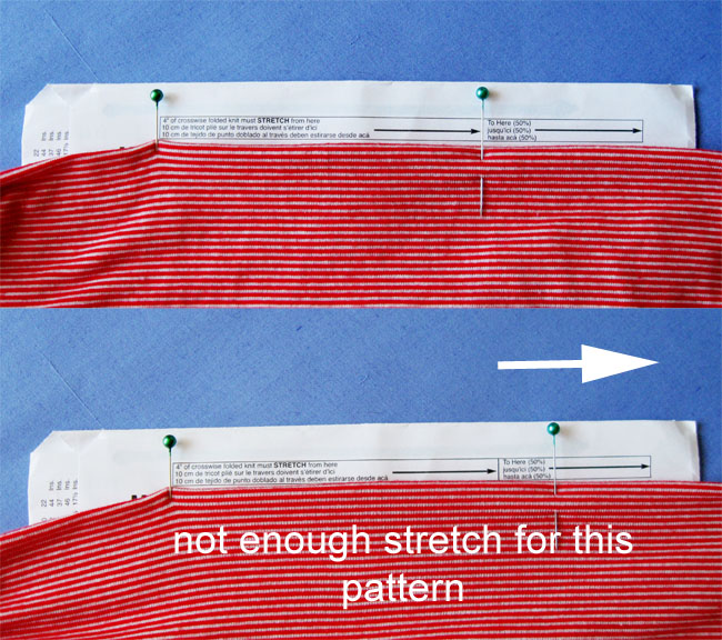 Check knit stretch on pattern envelope2