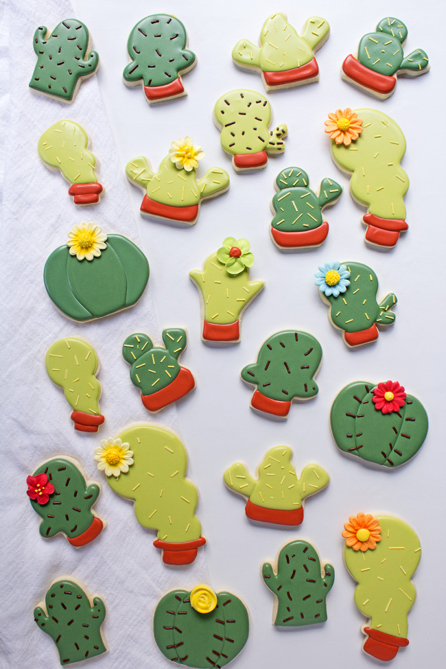 How to Make Simple Cactus Cookies Even if You Don't Have a Cactus Cookie Cutter
