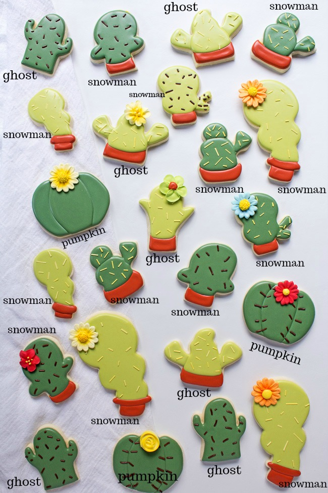 How to Make Simple Cactus Cookies Even if You Don't Have a Cactus Cookie Cutter1