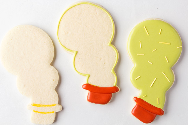 How to Make Simple Cactus Cookies with a Snowman Cookie Cutter
