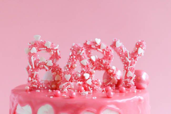 Baby Sprinkle Letters | Erin Gardner | Craftsy