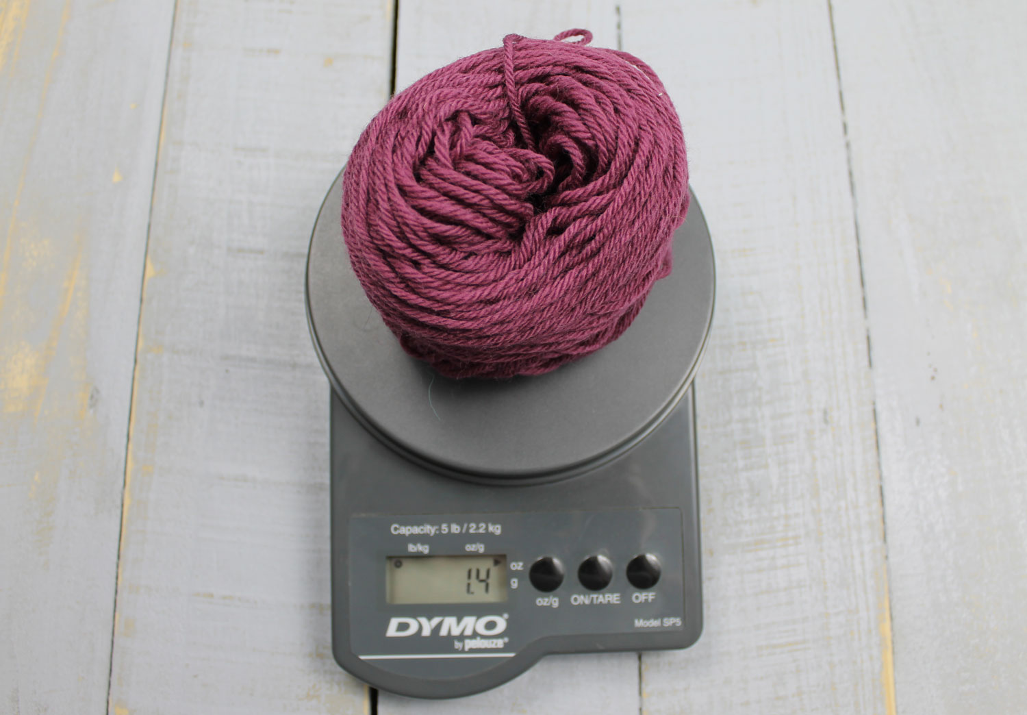 Calculating yarn yardage