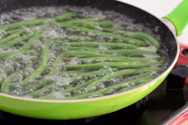 Blanched greenbeans