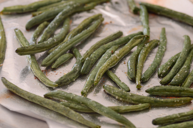 Roasted greenbeans