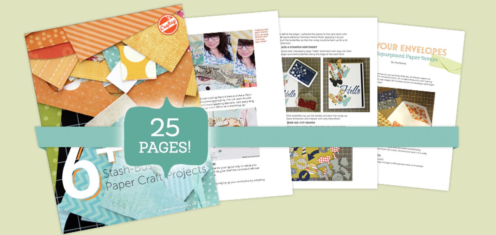 Paper Crafts Stash Busting Guide