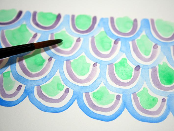 Underwater patterns