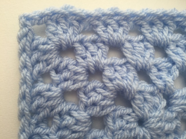 slip stitch crochet edging