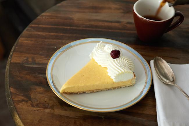 Orange Nutmeg Cream Pie