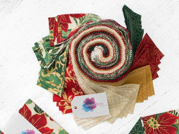 christmas precut quilting fabric
