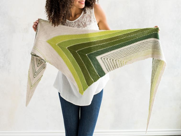 Serenity Now Shawl Knitting Kit