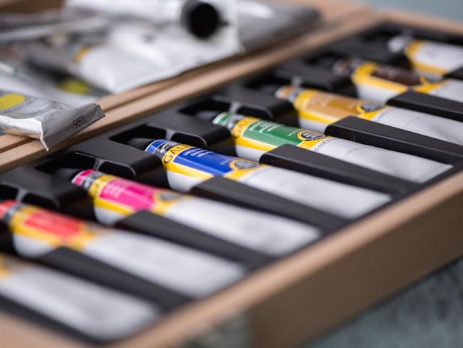 Tubes of Acrylic Paint