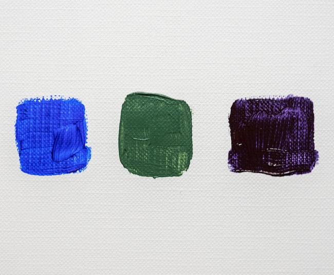 50 Percent Blue Color Mix
